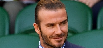 David Beckham blasted for being 'indiscreet' about Buckingham Palace tea party