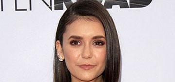 Nina Dobrev has been dating actor Glen Powell since January