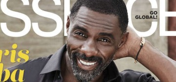 Idris Elba: 'Am I ever gonna get remarried? I don't think so.'