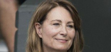 Carole Middleton scrounged some free Wimbledon tickets off Mirka Federer