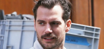 Henry Cavill apparently has a new girlfriend, and she's not a college freshman