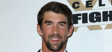 Michael Phelps was up to 235 lbs, never wants to get there again