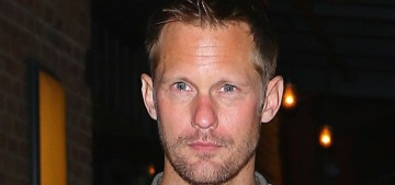 Alex Skarsgard & Alexa Chung broke up, now he's being set up on blind dates