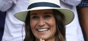 Pippa Middleton in a $490 Isabel Marant dress at Wimbledon: cute or basic?