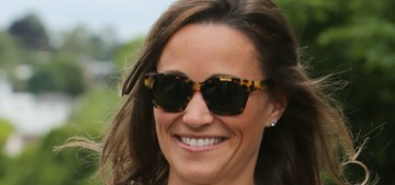 Pippa Middleton in MaxMara at the Wimbledon final: twee or adorable?