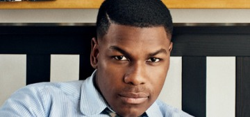 John Boyega: 'I ain't paying money to always see one type of person on-screen'