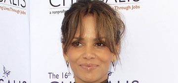 Halle Berry on speculation she's pregnant: No one talks 'about a man's pooch'
