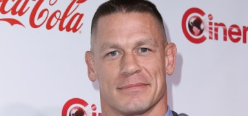 John Cena spends 30 minutes every day shaving his entire body, yikes