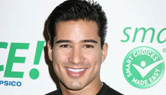Mario Lopez Accused of Stealing Flowers
