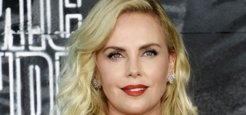 Charlize Theron denies rolling her eyes at Tia Mowry at a SoulCycle in 2014
