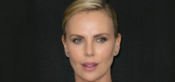 Charlize Theron wore another Dior 'bra' ensemble: tedious or cute?
