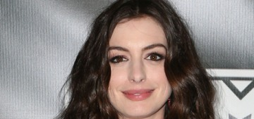 Anne Hathaway's in negotiations to play Barbie in that movie about Barbie