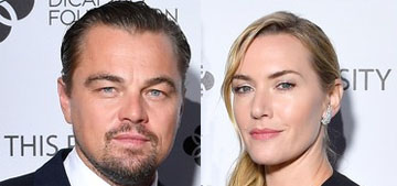 Leo DiCaprio, Kate Winslet and Billy Zane had a mini Titanic reunion