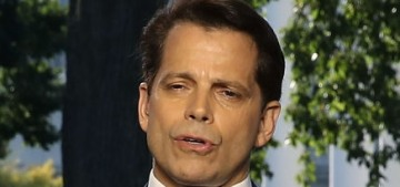 Anthony Scaramucci's wife filed for divorce when she was nine months pregnant