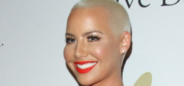 Amber Rose is considering a breast reduction: 'I can't wear cute lil shirts'