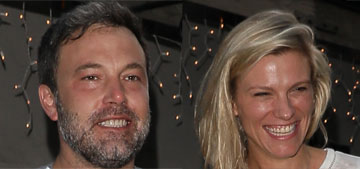 Ben Affleck & Lindsay Shookus are in Maine, were spotted twice at liquor store