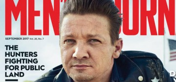 Jeremy Renner gave his daughter a princess castle & a tool set for Christmas