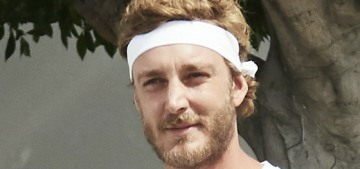 We need to talk about how Pierre Casiraghi found his hotness, right?