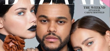 Harper's Bazaar totally phoned-in their sleepy September cover with The Weeknd