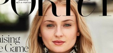 Sophie Turner got a movie role because she had a bigger social media following