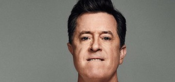 Stephen Colbert: 'I've gained 15 pounds since Donald Trump became president'