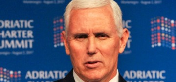 VP Mike Pence denies claims that he'll be running for president in 2020