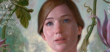 Jennifer Lawrence gets terrorized in the full-length trailer for 'Mother!'