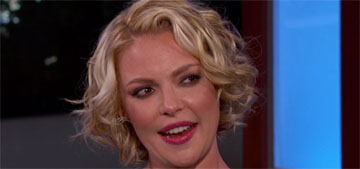 Katherine Heigl gained 50 pounds while pregnant, has lost most of it