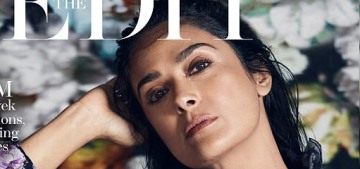 Salma Hayek: 'The worst part of the aging process has been my eyes'