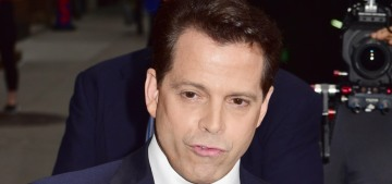 Anthony Scaramucci tells Colbert that sure, Trump should fire Steve Bannon