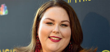 Chrissy Metz cried for an hour before she bought a new laptop recently