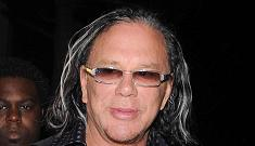 Mickey Rourke looks forward to practicing monogamy some day