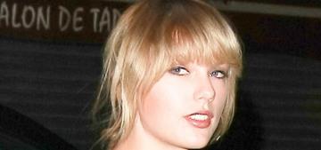Taylor Swift pledges donations to Mariska Hargitay's Joyful Heart foundation