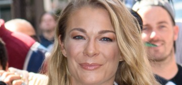 LeAnn Rimes has been promoting her cameo appearance in 'Logan Lucky'