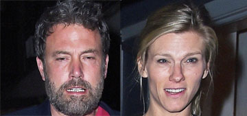 Ben Affleck & Lindsay Shookus papped in NYC shopping for jewelry, going to dinner