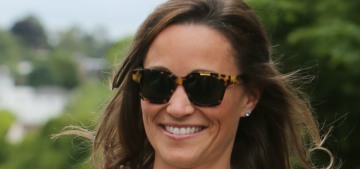 Pippa Middleton's life as a wife probably involves lots of gym time & no wine