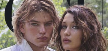 Bella Hadid covers Vogue Australia with rumored boyfriend Jordan Barrett