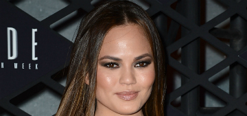 Chrissy Teigen spins on ballet pointe shoes, says she does more dangerous things