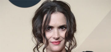 Winona Ryder:  'I understand the debate about roles for women my age'