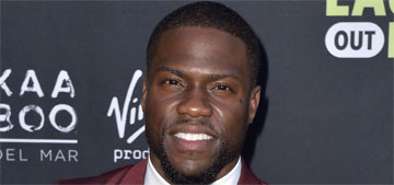 Kevin Hart laughs off cheating rumors, but this time they're coming from his ex wife