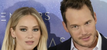 Star: Chris Pratt's friends think he's going to end up dating Jennifer Lawrence
