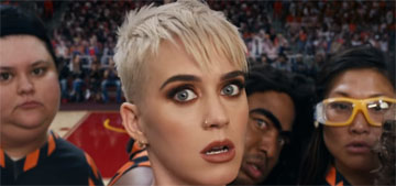 Katy Perry's Swish Swish video: six minutes you'll never get back