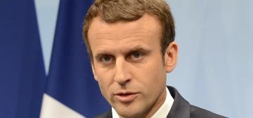 Emmanuel Macron spent about $30K on makeup & makeup artists in 3 months