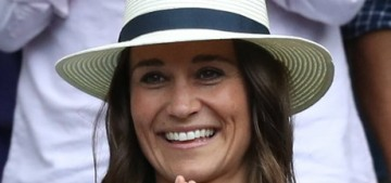 Pippa Middleton did a handmade card for her wealthy husband's 42nd birthday