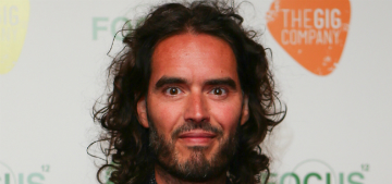 Russell Brand married Laura Gallacher & they had an Indian-themed reception