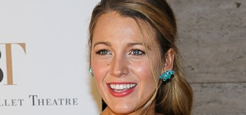 Blake Lively spent her 30th birthday surrounded by cakes, tartes & baked goods