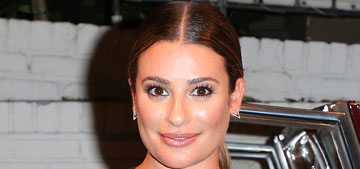 Lea Michele has a mysterious boyfriend named Zandy