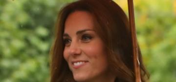 Duchess Kate wears $2200 Prada for Kensington garden tour: dated or lovely?
