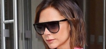 Will Victoria Beckham make pajamas as outerwear happen?