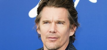 """Is it just me or does Ethan Hawke look really hot in Venice?"" links"